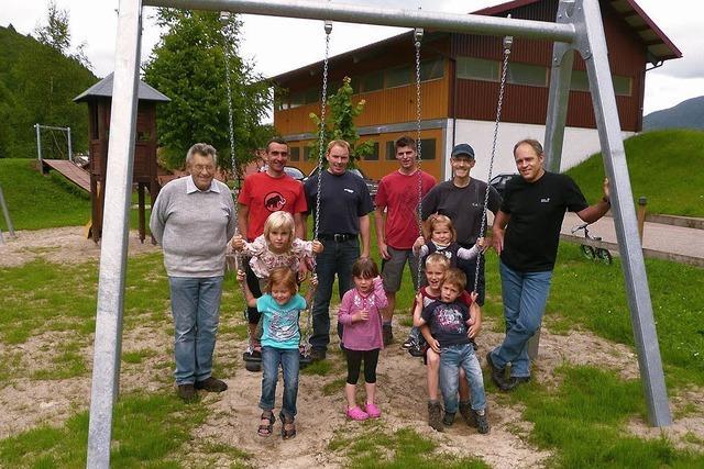 Schönenberger Spielplatz wurde aufgemöbelt
