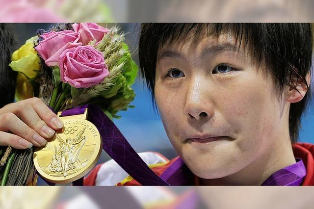 Die 16-jährige Chinesin Ye Shinwen ist schnell wie Tarzan