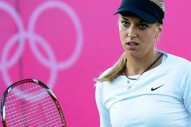 Tennis: Sabine Lisicki zittert sich weiter