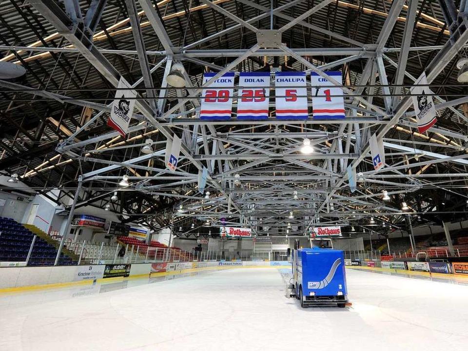 Dreht die Eismaschine bald in einem neuen Eisstadion ihre Runden?   | Foto: Ingo Schneider