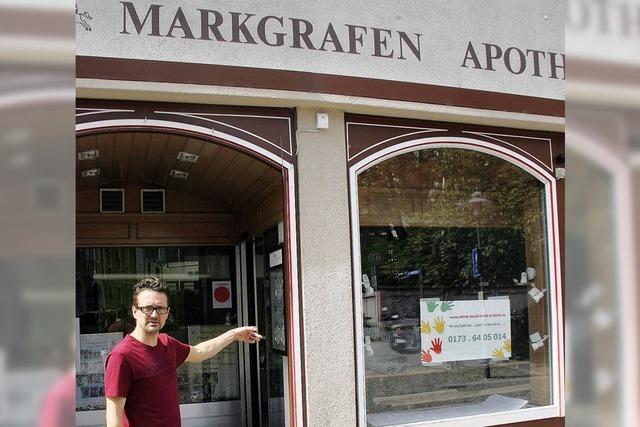 Mini-Markgrafen erobern Apotheke