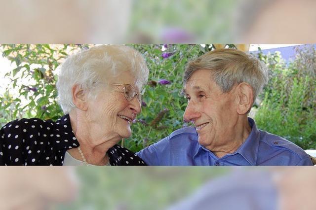 Glücklich bis ins Alter