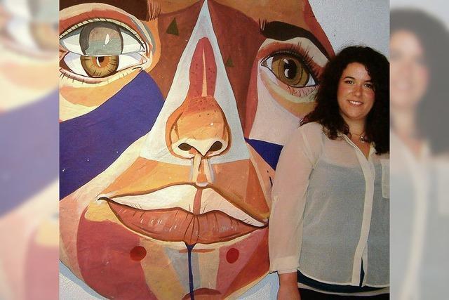 Eine junge US-Künstlerin sog viele Eindrücke auf