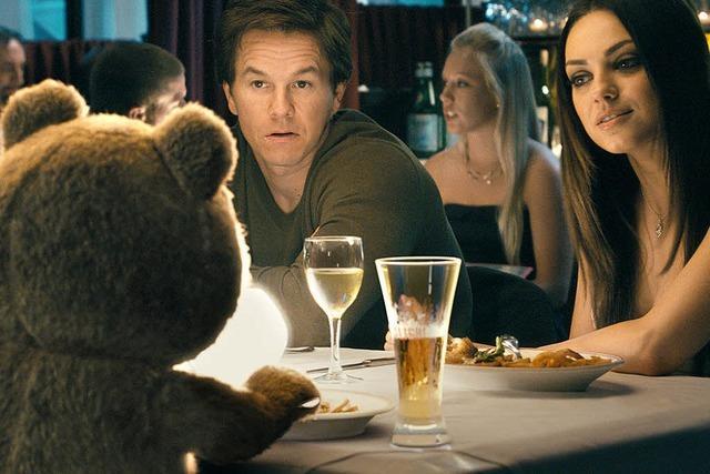 Ein Teddybär wird erwachsen