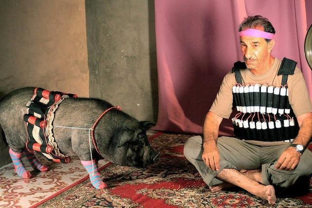 """""""Das Schwein von Gaza"""" - ein allegorisches Schelmenstück"""