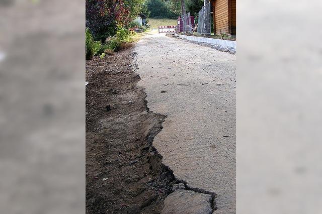 Schäden an Gemeindestraße