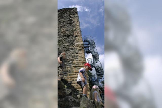 Spannender Nachmittag zwischen alten Mauern