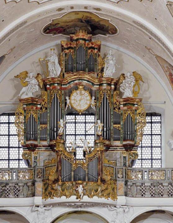 Barocke Kostbarkeit: Orgel in der Pfarrkirche St. Peter   | Foto: Veranstalter