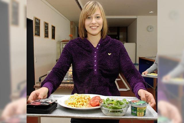 Mensa-Essen als Thema vorerst vom Tisch