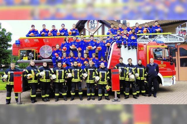 Die Jugend der Feuerwehr stellt sich selbst vor