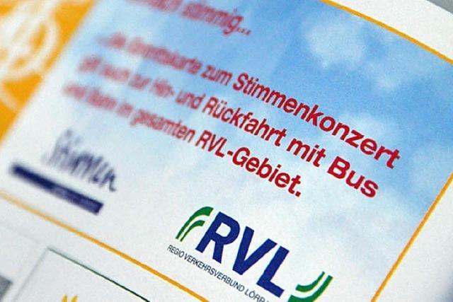 """Das Kombi-Ticket für """"Stimmen"""" und RVL wird genutzt"""