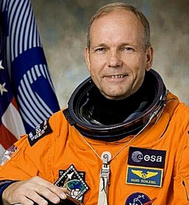 Hans Wilhelm Schlegel zu seinen Astronautenzeiten 2008  | Foto: ESA