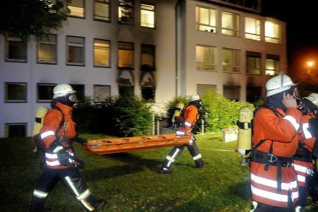 Ursache des Brands im Krankenhaus bleibt ungeklärt
