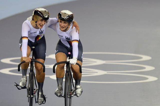 Gold im Teamsprint dank zweier Disqualifikationen