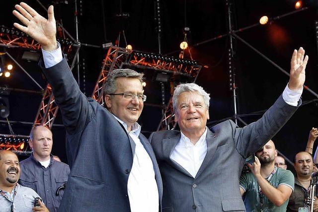 Gauck rockt Polens Woodstock