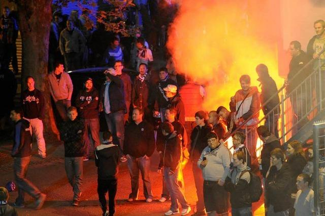 Karlsruher SC gegen Osnabrück vor leeren Rängen