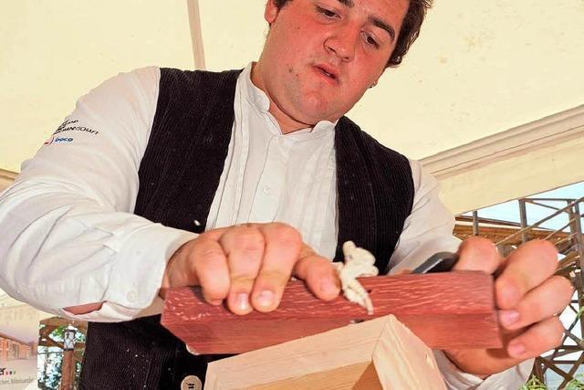 Andreas Fichter ist der beste Zimmermann Europas