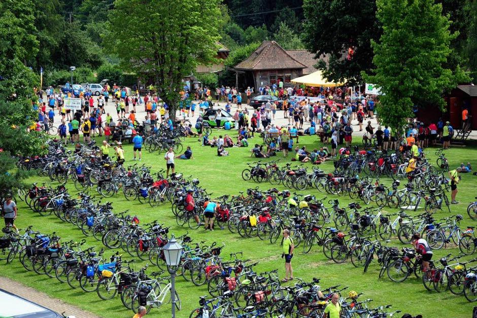 Tour de Ländle in Simonswald (Foto: Horst Dauenhauer                )