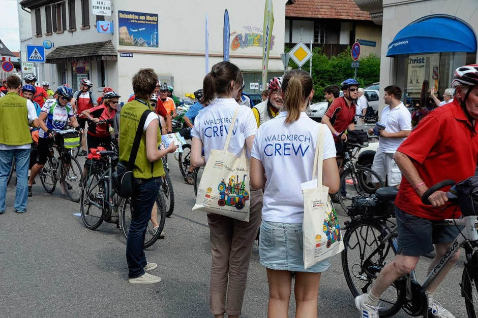 Tour de Ländle in Waldkirch (Foto: Sylvia Timm)