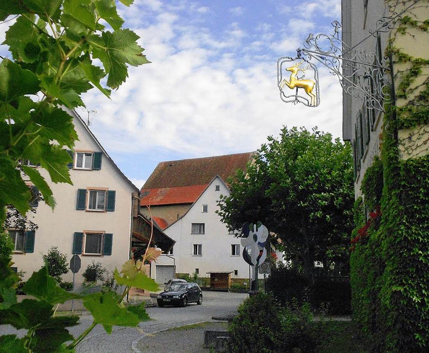 Idyllisches Forschungsobjekt: der Ort Holzen  | Foto: Langelott