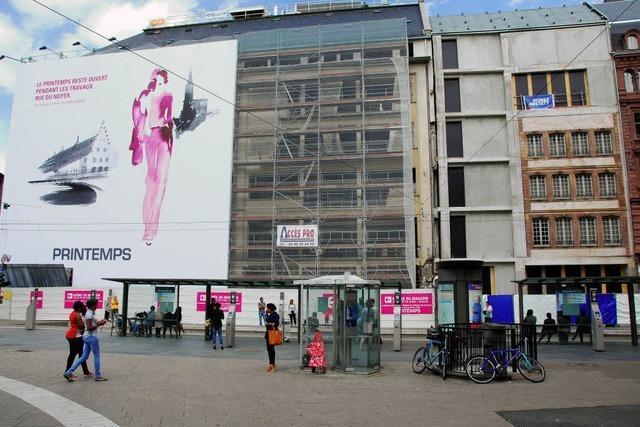 Vergänglicher Blick aufs historische Straßburg