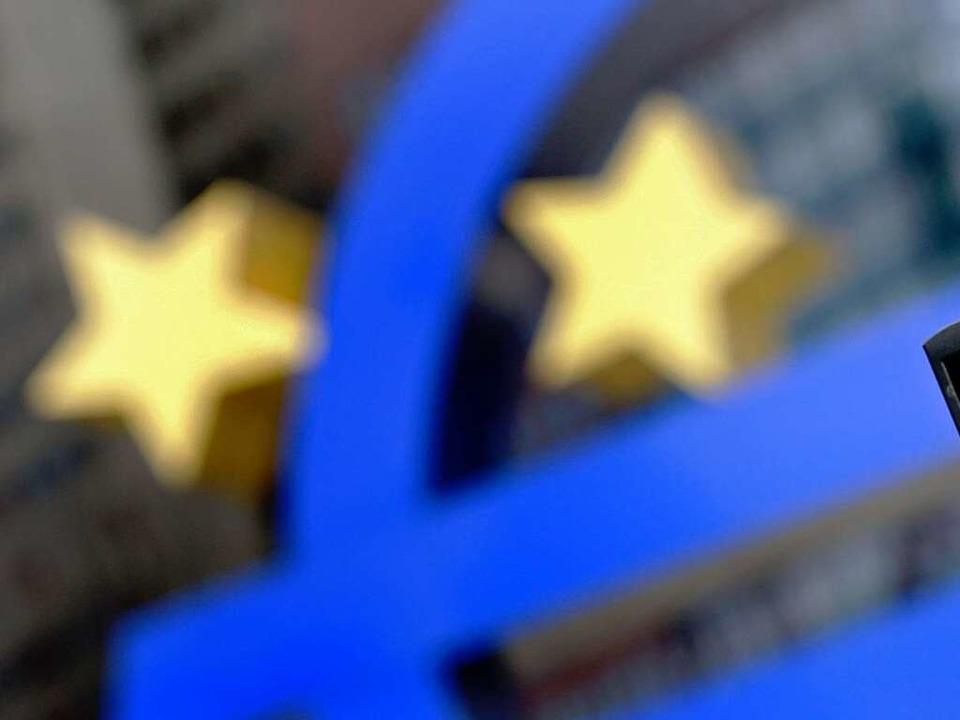 Der Euro – nicht nur Sorgenkind der Politik, sondern auch vieler BZ-Leser.  | Foto: dapd