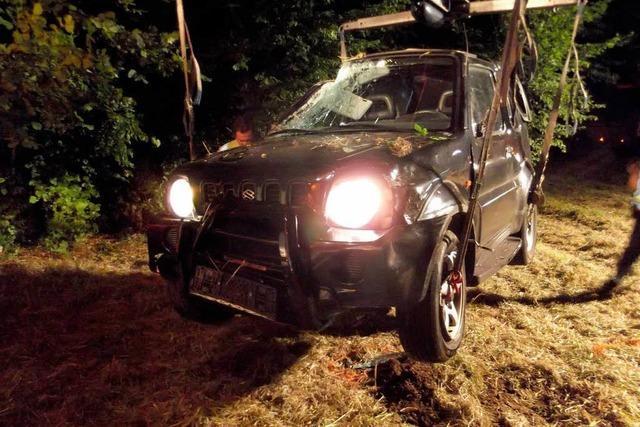 Falschfahrer stirbt nach Unfall auf der B31