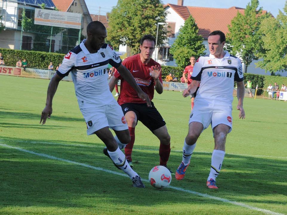 Wie gegen Kassel trennte sich der SC Freiburg auch vom FC Sochaux unentschieden.  | Foto: Meinrad Schön