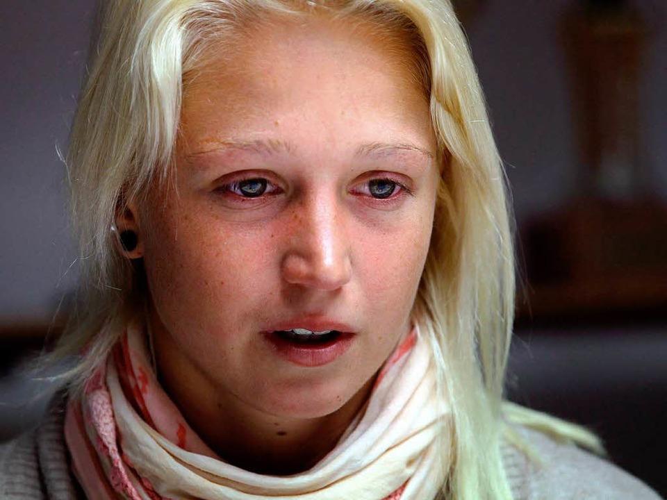 """Nadja Drygalla: """"Ich empfinde das als unfair""""    Foto: dpa"""