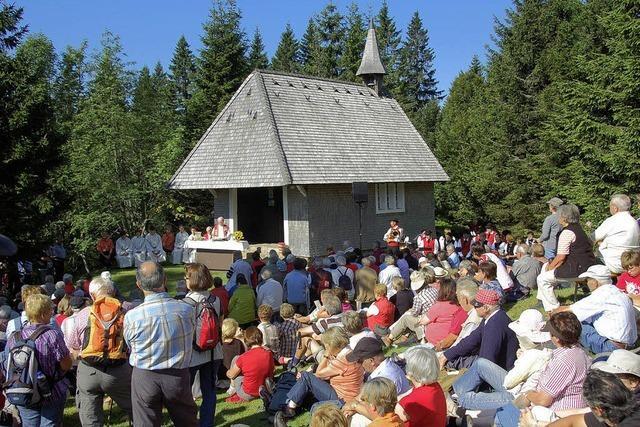Laurentiusfest auf dem Feldberg