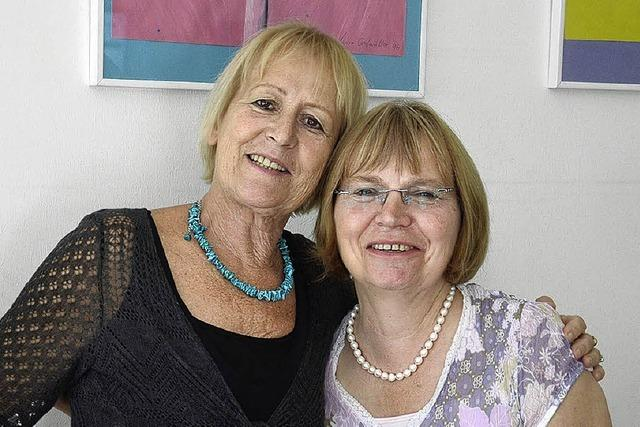 Dank an Annette Kuppel und Gabi Unterschütz