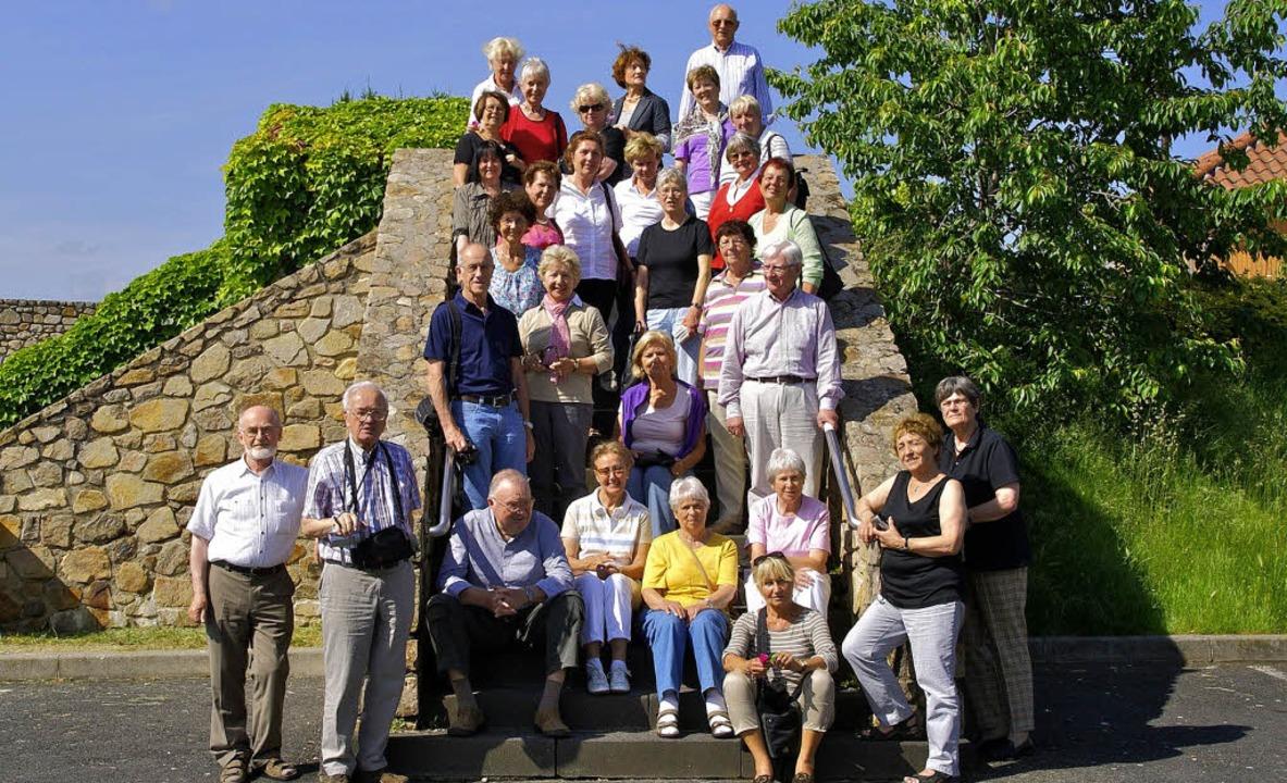 30 Teilnehmerinnen und Teilnehmer erle... Woche lang den Südwesten Frankreichs.  | Foto: CFA