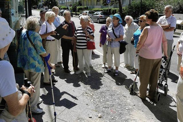 Senioren erkundeten die Partnerstadt