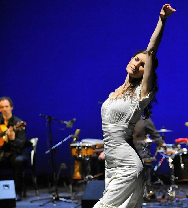 Tanz mit Leidenschaft: Sybille Märklin    Foto: Pro