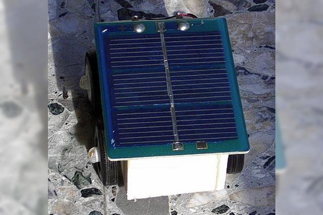 INZLINGER FERIEN: Inzlingen hat Solarautos