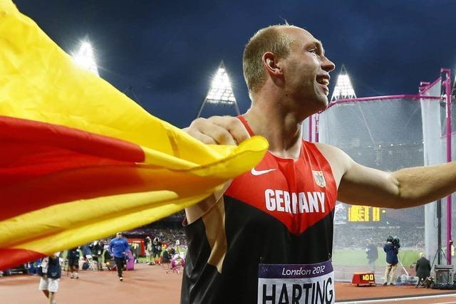Robert Harting holt Diskus-Gold und schreibt Sportgeschichte