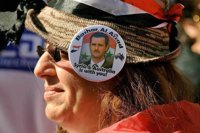 Assad-Regime wiegelt ab