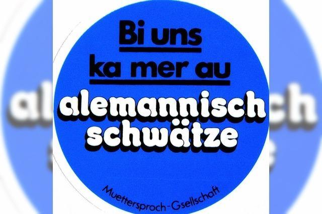 Keine Einheit des Alemannischen