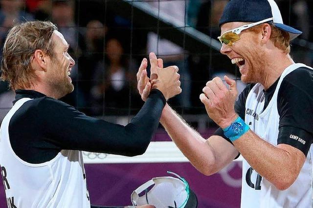 Brink/Reckermann: Deutsches Beach-Duo steht im Finale