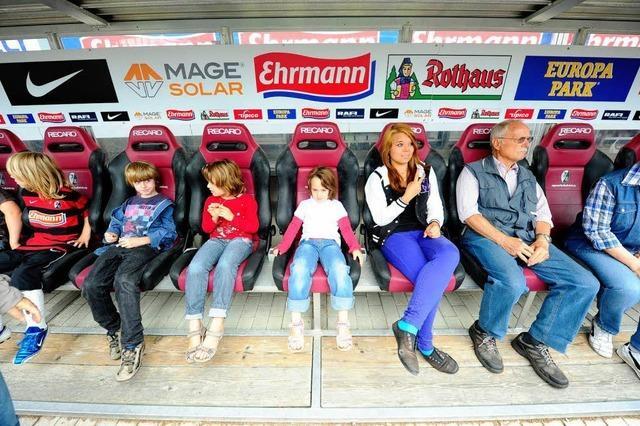 BZ-Ferienaktion im Stadion des SC Freiburg