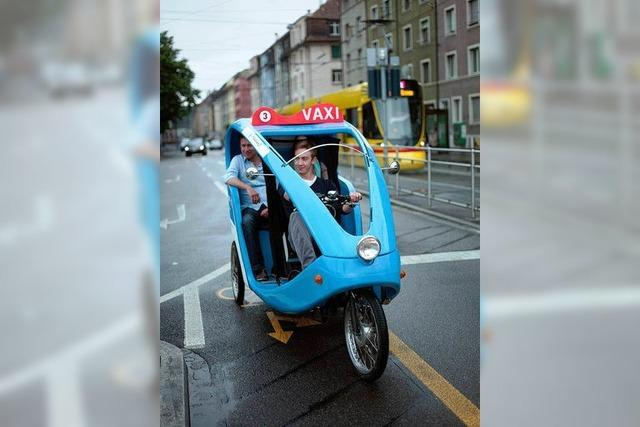 In Basel dürfen Fahrrad-Rikschas Taxistandplätze nutzen