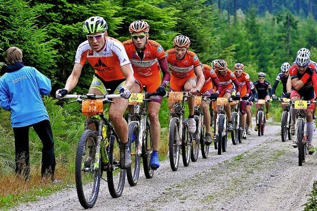 Trans-Schwarzwald: 550 Biker, 386 Kilometer, fünf Etappen