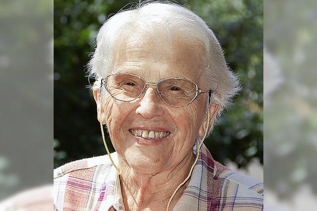 Franziska Mörder wird 90