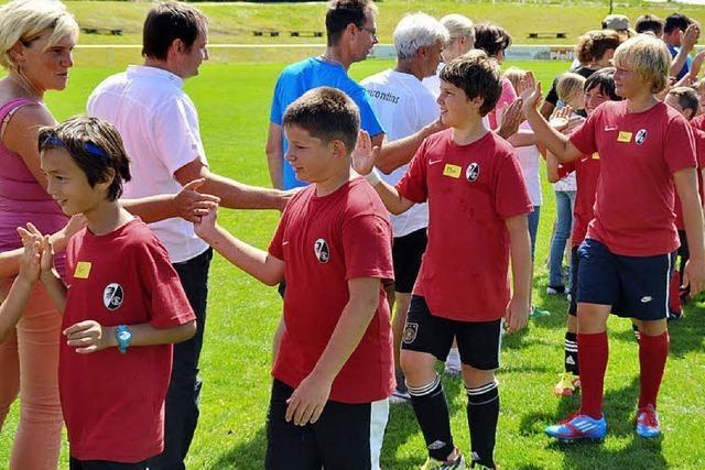 Höchenschwand: Fußballcamp der Freiburger Fußballschule