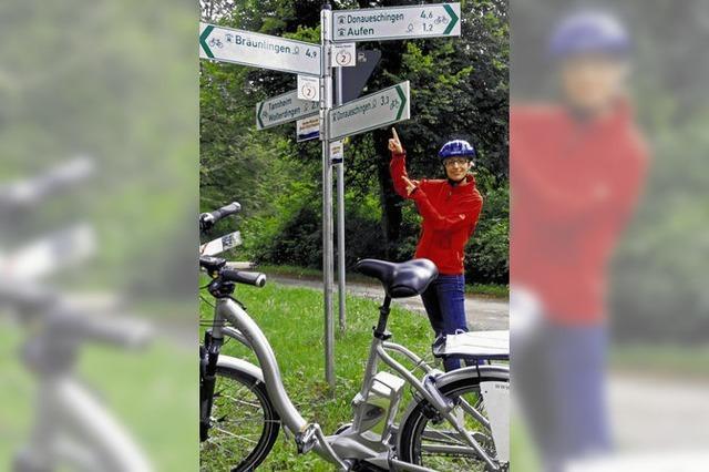 Radtour mit diversen Schikanen