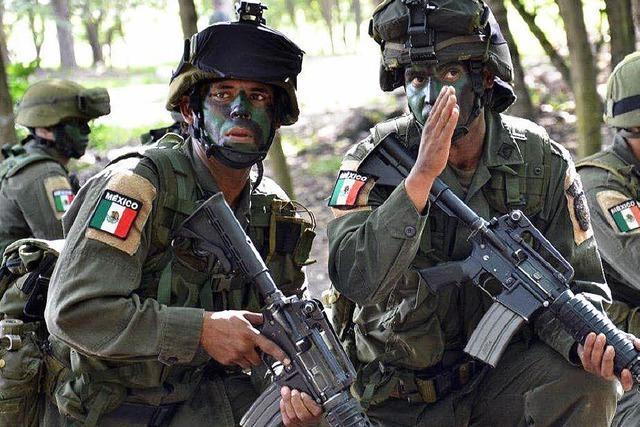 In Kolumbiens Wäldern bilden US-Soldaten Drogenkrieger aus