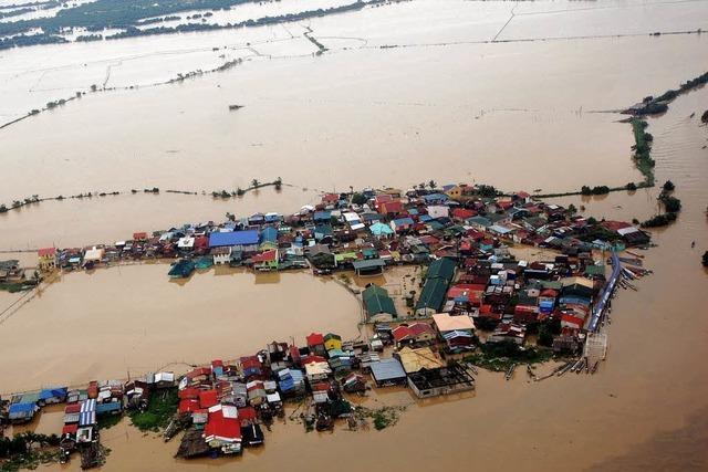 Regenmassen führen zu Überschwemmungen