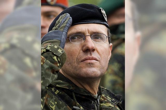 Oberst Georg Klein wird General