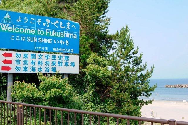 Baden in Fukushima: Hier strahlt nicht nur die Sonne