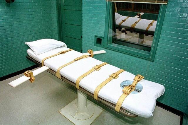 Texas: Behinderter mit Giftspritze hingerichtet